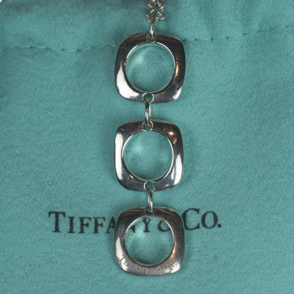c4d514f71 Tiffany & Co. Triple Cushion Square Necklace. M_5ab0860885e605b1dc771a9f